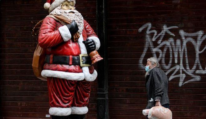 Χριστούγεννα με πανδημία