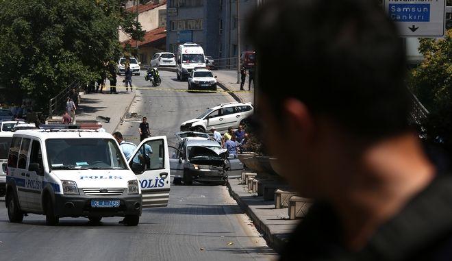 Τούρκοι αστυνομικοί στην Άγκυρα