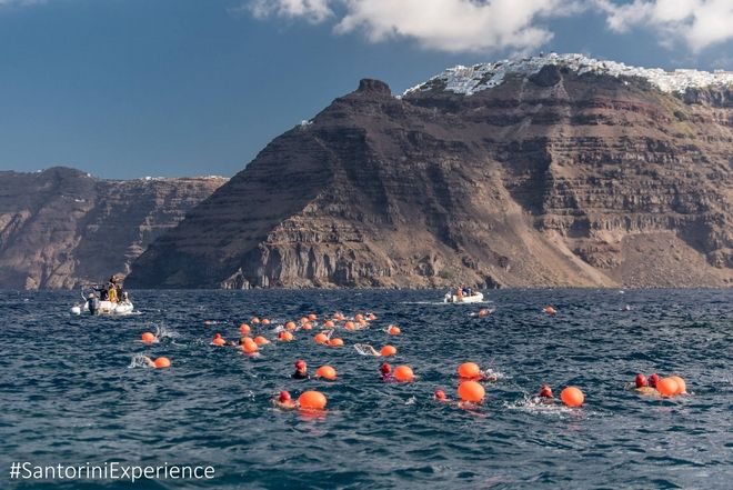 Open Water Swimming by Vikos @ Santorini Experience