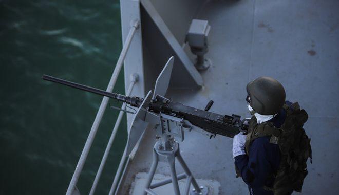 Φωτογραφία Αρχείου από ασκηση του Πολεμικού Ναυτικού (φωτογραφία: ΒΑΣΙΛΗΣ ΡΕΜΠΑΠΗΣ)
