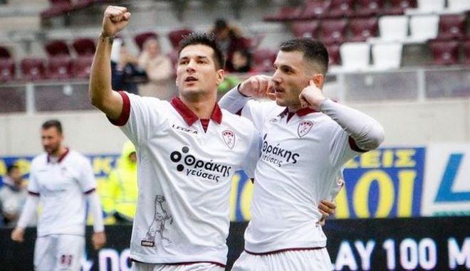 """ΑΕΛ - Πανιώνιος 2-0: """"Βυσσινί"""" επιστροφή και φουλ για playoffs"""