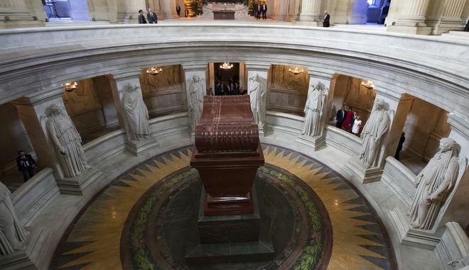 Ο τάφος του Ναπολέοντα.
