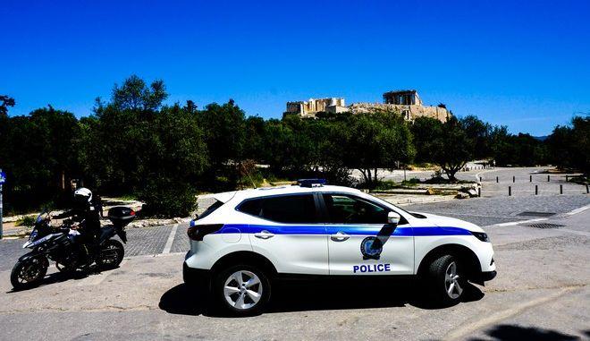 Έλεγχοι της Αστυνομίας στη Διονυσίου Αρεοπαγίτου