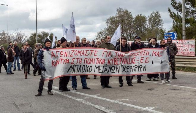 Στα μπλόκα και οι αγρότες της Κρήτης