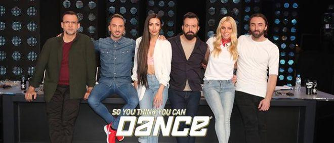Παρουσιάστρια και κριτική επιτροπή του So You Think You Can Dance που προβλήθηκε την άνοιξη του 2017 από τον ΑΝΤ1