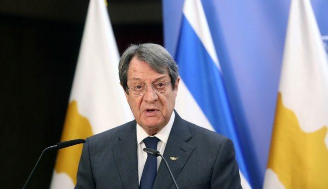 Ο ΠτΔ της Κύπρου, Νίκος Αναστασιάδης