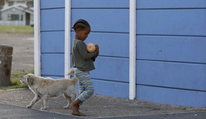 Παιδί στη Νότια Αφρική