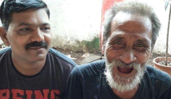 Επανενώθηκε με την οικογένειά του μετά από 40 χρόνια