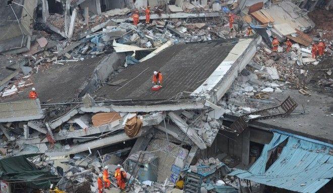 Κατολίσθηση στην Κίνα ισοπέδωσε 33 κτίρια. Στους 91 υπολογίζονται οι αγνοούμενοι