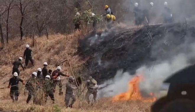 Φωτιά στη Βολιβία
