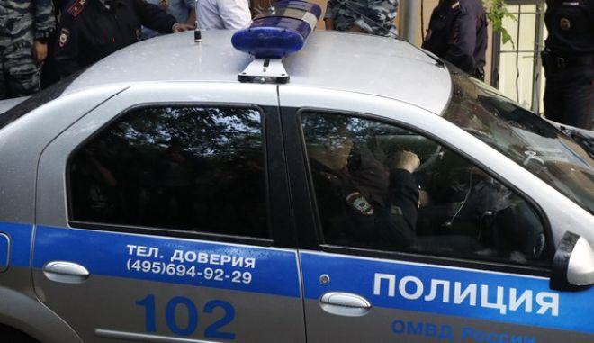 Αστυνομικές δυνάμεις της Μόσχας