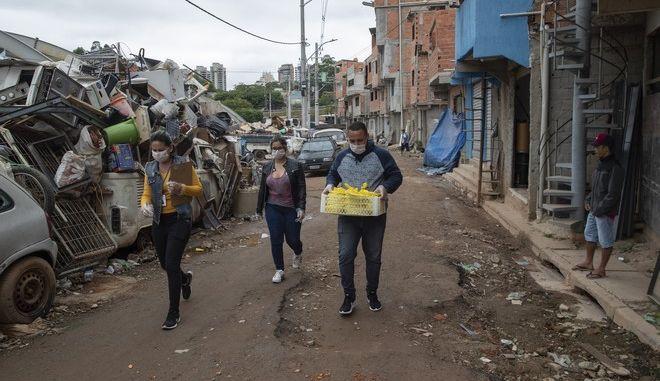 Φαβέλες του Ρίο στη Βραζιλία