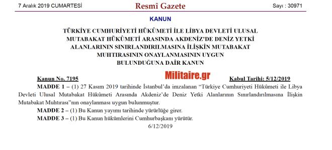 ΥΠΕΞ για Συμφωνία Τουρκίας - Λιβύης: Καμία αξία το
