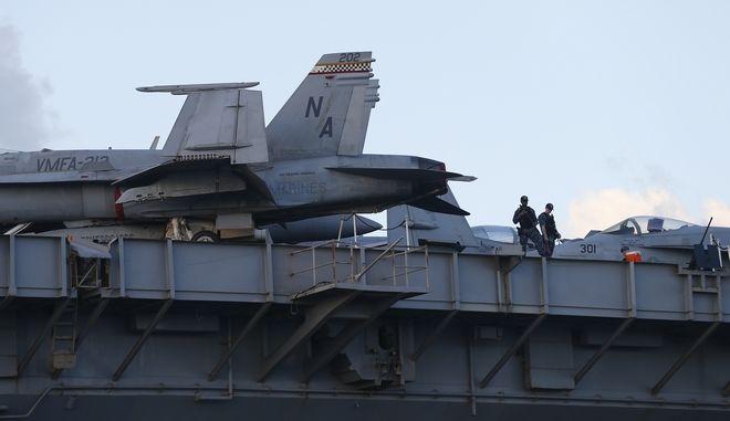 Το USS Theodore Roosevelt. Φωτό αρχείου.