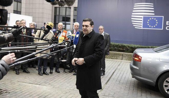 Σύνοδος του Ευρωπαϊκού Συμβουλίου στις Βρυξέλλες, Πέμπτη 18 Φεβρουαρίου 2016. (EUROKINISSI/ΓΕΝΙΚΗ ΓΡΑΜΜΑΤΕΙΑ ΠΡΩΘΥΠΟΥΡΓΟΥ ΓΡΑΦΕΙΟ ΤΥΠΟΥ)