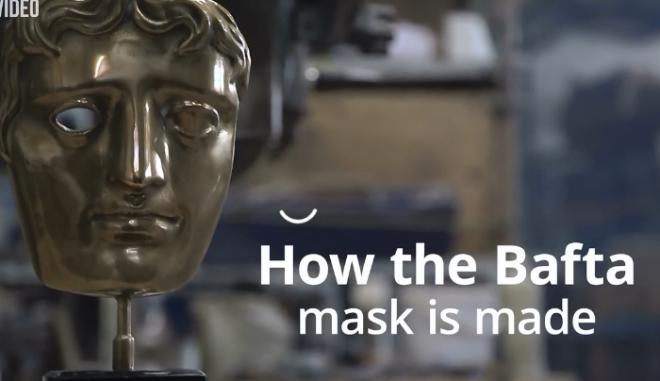 Έτσι φτιάχνεται η μάσκα των BAFTA