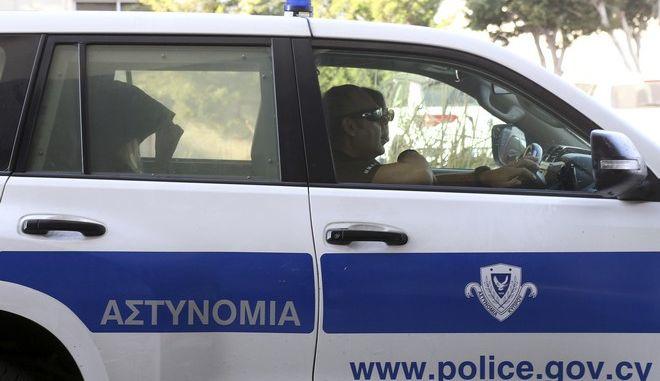 Αστυνομία στην Κύπρο. Φωτο αρχείου.