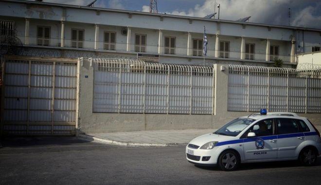 Στιγμιότυπο από τις φυλακές Κορυδαλλού το Σάββατο 11 Νοεμβρίου 2017. (EUROKINISSI/ΓΙΩΡΓΟΣ ΚΟΝΤΑΡΙΝΗΣ)