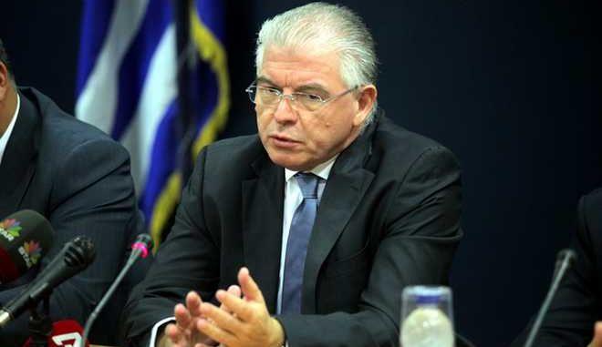 Συνέντευξη Τύπου την Τρίτη 7 Οκτωβρίου 2014, του υπουργού Υγείας Μάκης Βορίδης, με τη συμμετοχή των πρώην υπουργών Υγείας Ανδρέα Λοβέρδου, Ανδρέα Λυκουρέντζου και Άδωνι Γεωργιάδη. (EUROKINISSI/ΚΩΣΤΑΣ ΚΑΤΩΜΕΡΗΣ)
