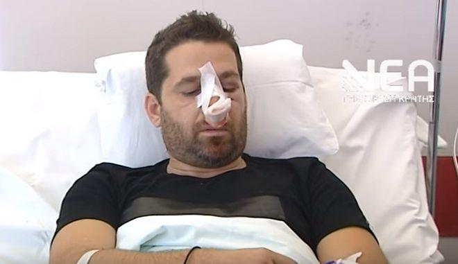 Συγκλονίζει ο Χανιώτης που ξυλοκοπήθηκε από νατοϊκούς: 'Μου έλεγαν θα πεθάνεις'