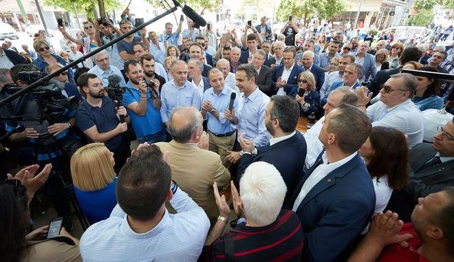 Μητσοτάκης: Μόνο η ΝΔ έδωσε πραγματικό αγώνα με επιχειρήματα κατά της συμφωνίας των Πρεσπών