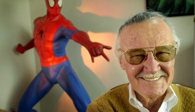 Ο δημιουργός των περισσότερων σούπερ ηρώων της Marvel, Stan Lee