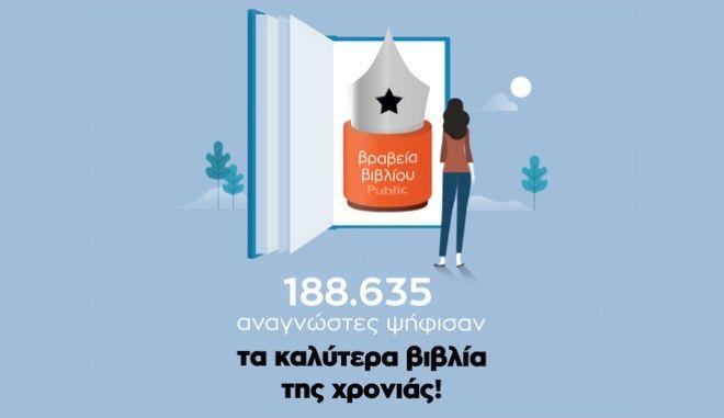 Βραβεία Βιβλίου Public 2020:Η ανακοίνωση των μεγάλων νικητών!