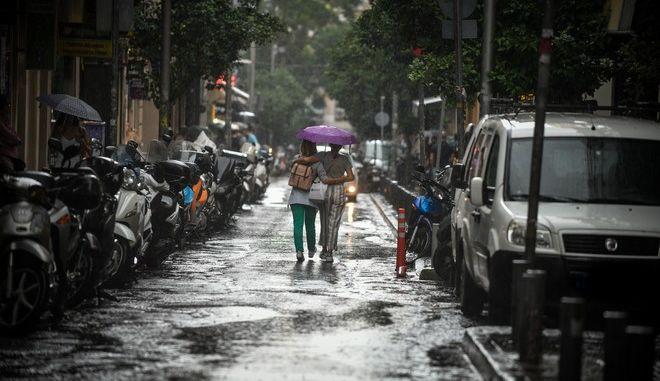 Ισχυρές βροχές