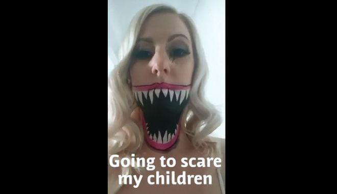 Επική φάρσα: Μητέρα τρομάζει τις κόρες της