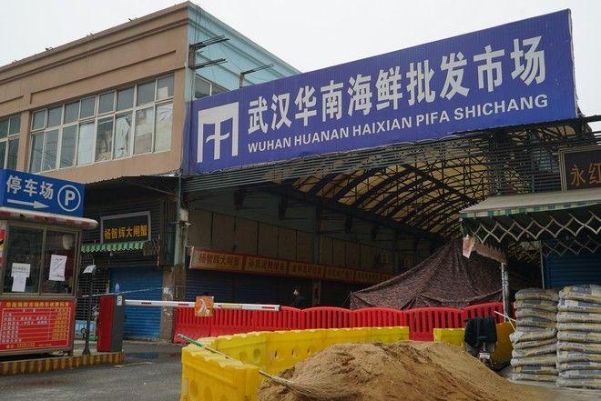 Η αγορά στη Γιουχάν από την οποία ξεκίνησε τον Δεκέμβριο του 2019 η πανδημία κορονοϊού