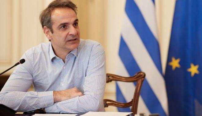 Ο πρωθυπουργός της Ελλάδας, Κυριάκος Μητσοτάκης