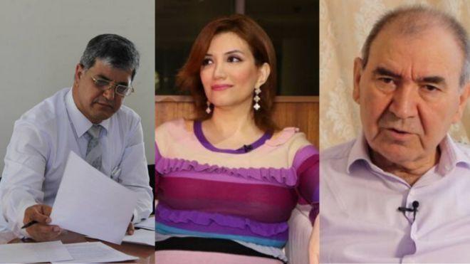 Ο Rafik Manafli (που είπε την ατάκα για τον Χίτλερ), η Gultakin Hajibayli κι ο Ganimat Zahid