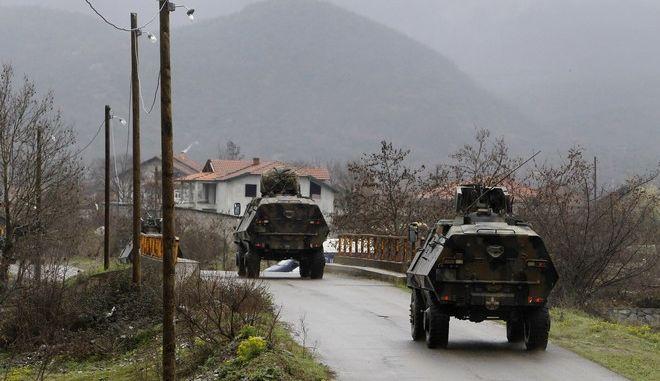 Στρατιωτικά οχήματα της Βόρειας Μακεδονίας