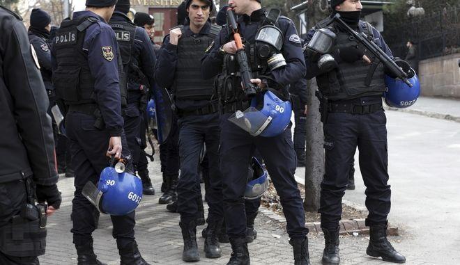 Αστυνομικοί στην Τουρκία.