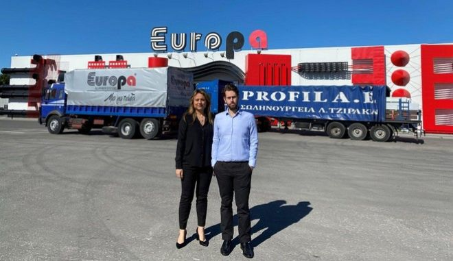 Η ΣΩΛΗΝΟΥΡΓΕΙΑ Λ. ΤΖΙΡΑΚΙΑΝ Α.Ε. και η EUROPA PROFIL ΑΛΟΥΜΙΝΙΟ ΑΒΕ στηρίζουν το έργο των Ενόπλων Δυνάμεων και της ΕΛ.ΑΣ