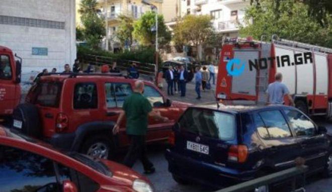 Τραγωδία στην Ηλιούπολη: Οδηγός καταπλακώθηκε από το φορτηγό του