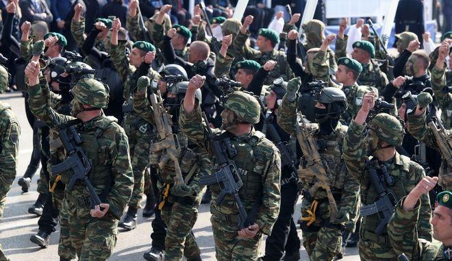 Στιγμιότυπο από την στρατιωτική παρέλαση για την επέτειο της 28ης Οκτωβρίου στην Θεσσαλονίκη, Αρχείο