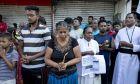 Συγγενείς θυμάτων των επιθέσεων στη Σρι Λάνκα