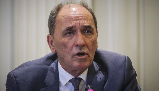 Ο Γιώργος Σταθάκης (EUROKINISSI/ΓΙΑΝΝΗΣ ΠΑΝΑΓΟΠΟΥΛΟΣ)