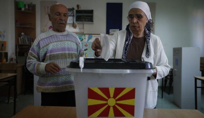 Σκοπιανοί ψηφίζουν στο κρίσιμο δημοψήφισμα για τη συνταγματική ονομασία της πΓΔΜ