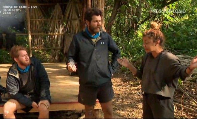 Καβγάς Τζέιμς, Νίκου, Μαριαλένας στο Survivor 4