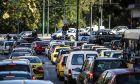 Οχήματα στο κέντρο της Αθήνας
