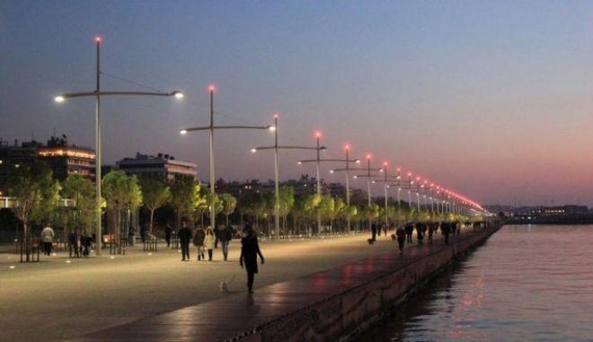Η μεταμόρφωση του παραλιακού μετώπου της Θεσσαλονίκης μέσα σε 4'