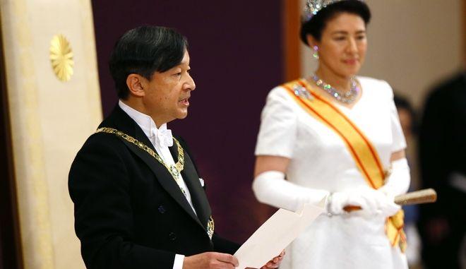 Ο νέος αυτοκράτορας της Ιαπωνίας, Ναρουχίτο
