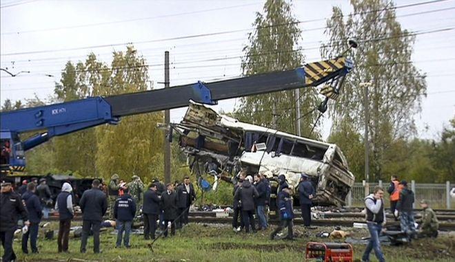 Δυστύχημα με λεωφορείο στη Ρωσία (φωτογραφία αρχείου)