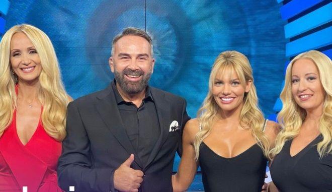 Ναταλί Κάκκαβα, Γρηγόρης Γκουντάρας, Ιωάννα Μαλέσκου και Αφροδίτη Γραμμέλη