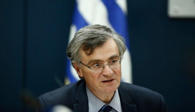Ο Καθηγητής Λοιμωξιολογίας και εκπρόσωπος του Υπουργείου Υγείας για τον κορονοϊό Σωτήρης Τσιόδρας