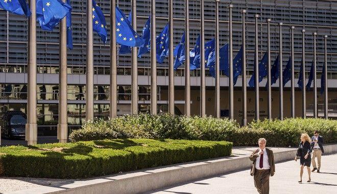Εξωτερική άποψη των κεντρικών γραφείων της ΕΕ στις Βρυξέλλες