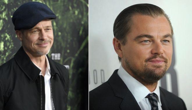 Μπράντ Πιτ και Λεονάρντο Ντι Κάπριο στη νέα ταινία του Ταραντίνο για τον Τσαρλς Μάνσον
