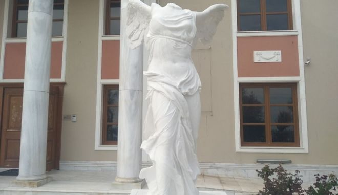 Αλεξανδρούπολη: Το πιστό αντίγραφο της Νίκης της Σαμοθράκης